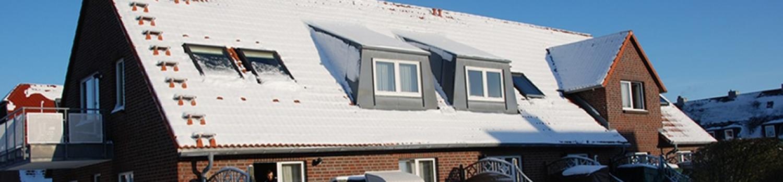 """Ferienhaus """"Hans im Glück"""" im Winter"""